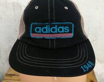 b96446e7687 Vintage Adidas Hat Cap Big Logo Cap Summer Style Street Wear Style  Sportsman Swag Stadium 92 Golf Cap Tennis Cap Fishing Cap