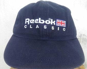 640c03436f3 Vintage Reebok Classic Hat Cap Big Logo Cap Fishing Cap Summer Style  Sportsman Golf Cap Snow Beach Street Wear Style Snapback Spell Out Swag