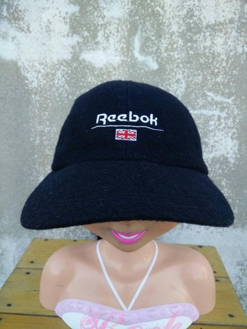 87410db1 Vintage Reebok Classic Hat Cap Big Logo Cap Summer Style | Etsy