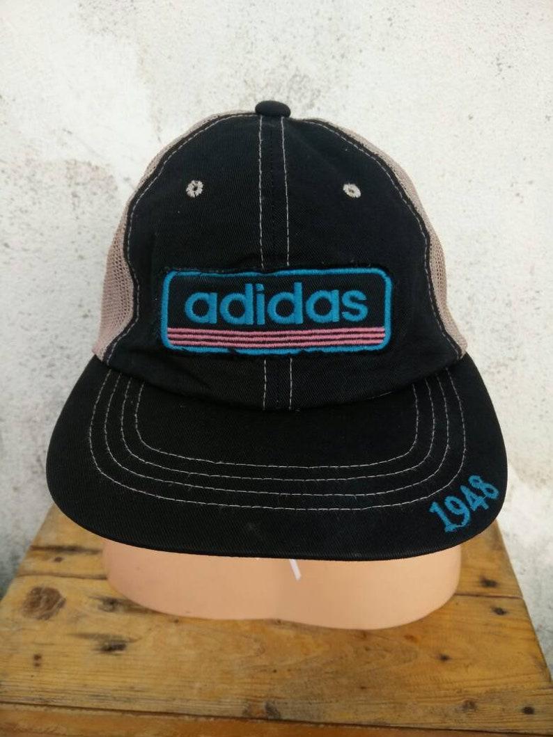 7864ccd2ffe12 Vintage Adidas Hat Cap Big Logo Cap Summer Style Street Wear Style  Sportsman Swag Stadium 92 Golf Cap Tennis Cap Fishing Cap