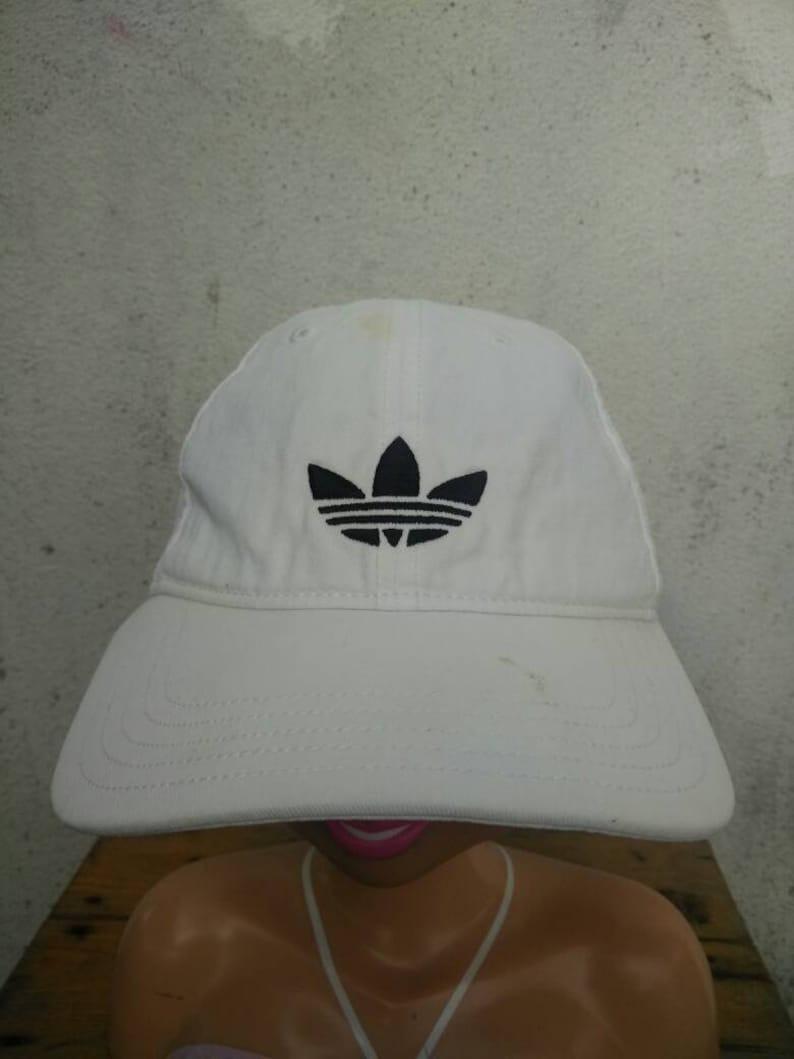 c321cac3c9068 Vintage Adidas Hat Cap Big Logo Cap Summer Style Sportsman Swag Street Wear  Style Snapback Hat Spellout Baseball Stadium 92 Fishing Cap