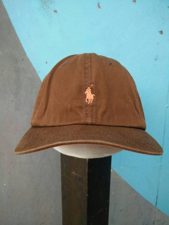 24d531d8213 Vintage Polo Hat Cap Polo Ralph Lauren Sports Cap Big Logo