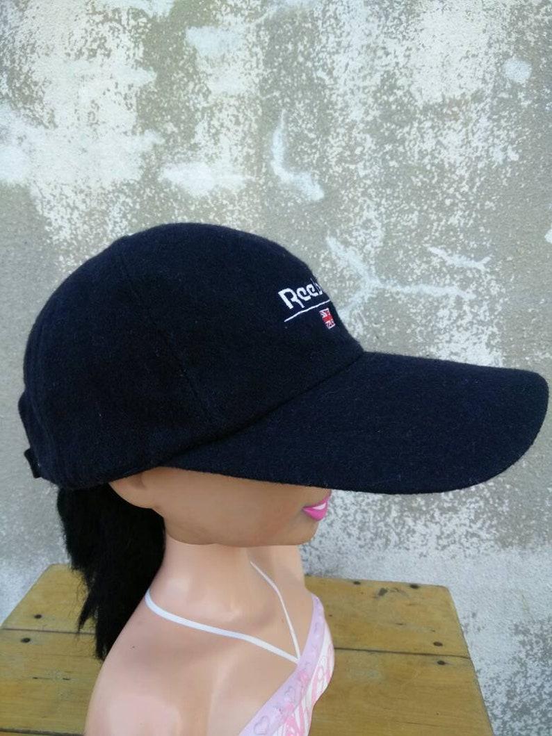 e33573d98d7 Vintage Reebok Classic Hat Cap Big Logo Cap Summer Style