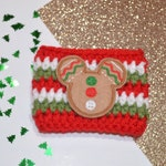 Mouse Gingerbread Cookie Cozy