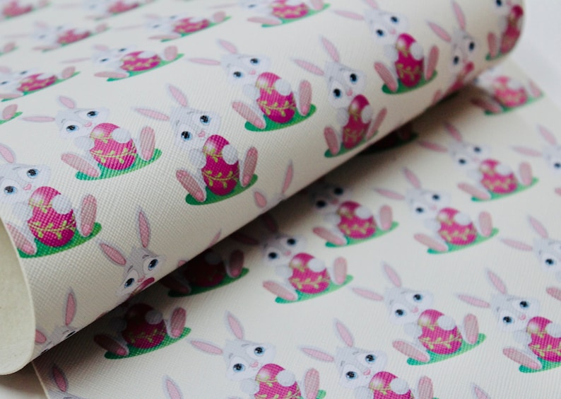 Easter egg fabric fabric by the yard Easter fabric easter prints easter floral cotton fabric knit fabric happy easter easter rabbit