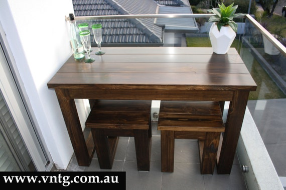 Terrific Handmade Timber Outdoor Setting Dining Table With Bench Seat Made In Australia Forskolin Free Trial Chair Design Images Forskolin Free Trialorg