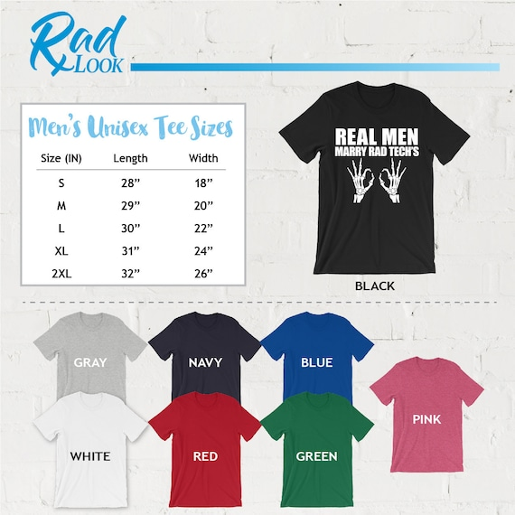 Short Sleeve Shirts Real Men Marry Radiologists Tee Shirt