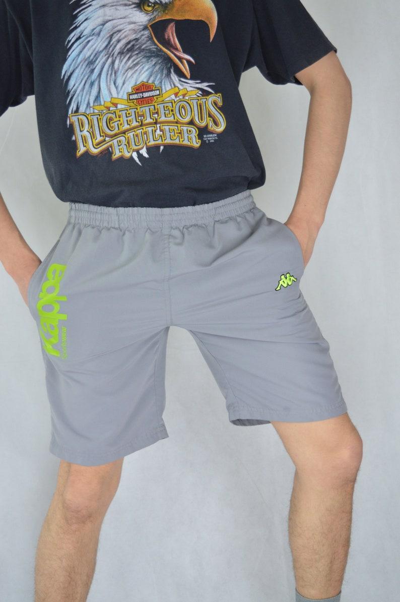Vintage grey KAPPA festival shorts