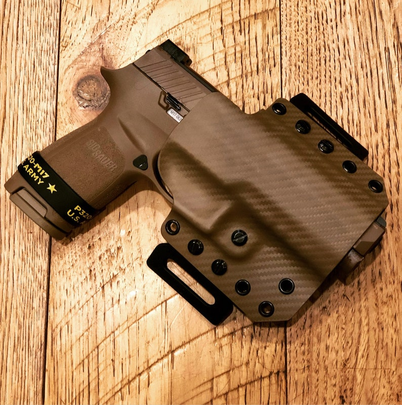 OWB Holster for Sig Sauer and Kimber (right handed)