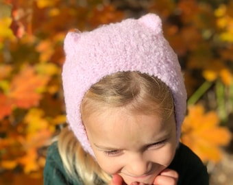 54a7005a96c Kids wool hat - knit autumn hat