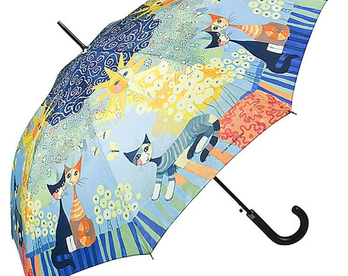 FROM LILIENFELD Umbrella Motif Art Cats Automatic Rosina Watchmaster: Dolce Vita
