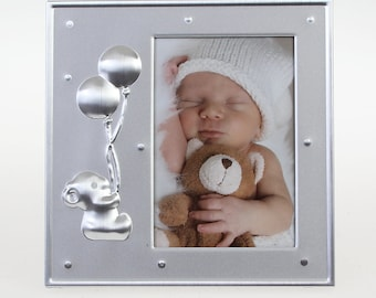 Henzo Baby Moments Baby Frame Balloons Size approx. 12 x 12 cm Picture size approx. 7 x 10 cm