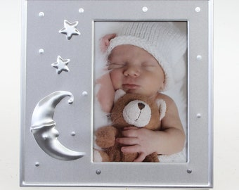Henzo Baby Moments Baby Frame Star Size approx. 12 x 12 cm Image size approx. 7 x 10 cm