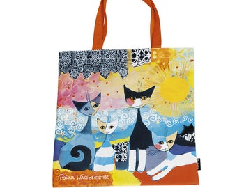 """Shopping bag Art Shopping Bag Rosina Watchmaster """"Merletto Sole"""" size about 38 x 40 cm"""