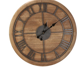 Wall clock Natural size approx. 60x5x60 cm