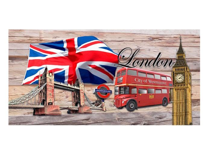 Art print London Giclee ca. 42.0 x 30.0 cm