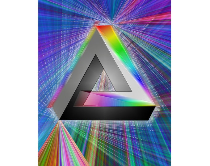 Art print Giclee Prism1 approx. 30.0 x 42.0 cm