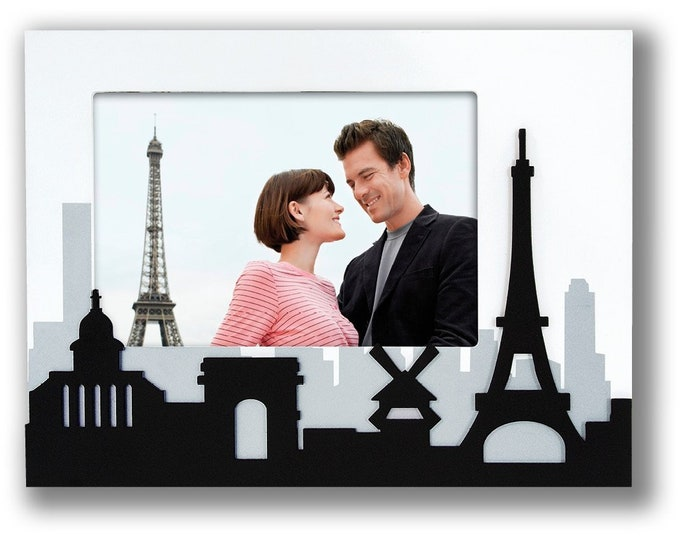 Picture frame Photo frame Montmartre Picture size approx. 10 x 15 cm Frame size approx. 22 x 17 x 1.6 cm