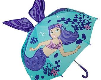 Children's Umbrella OF LILIENFELD Young Girls Kids Mermaid Nixe