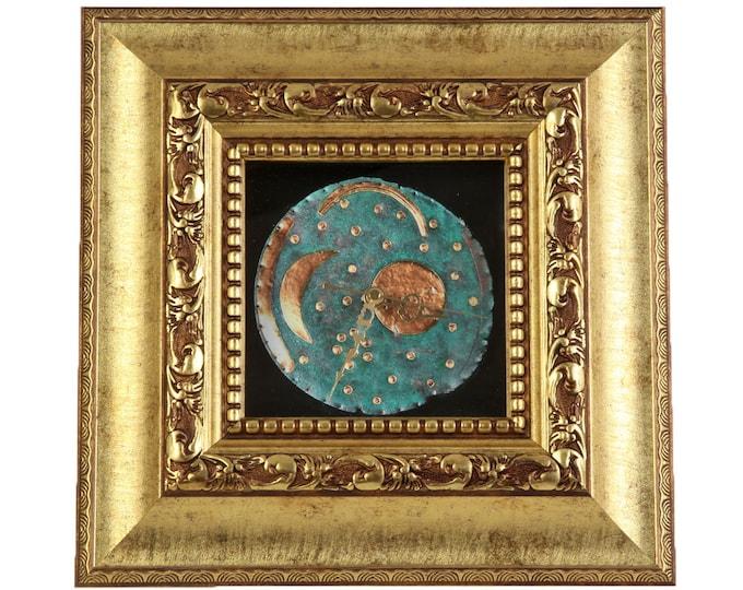 "Wall clock """"Sky disk of Nebra"" size approx. 38 x 38 cm"