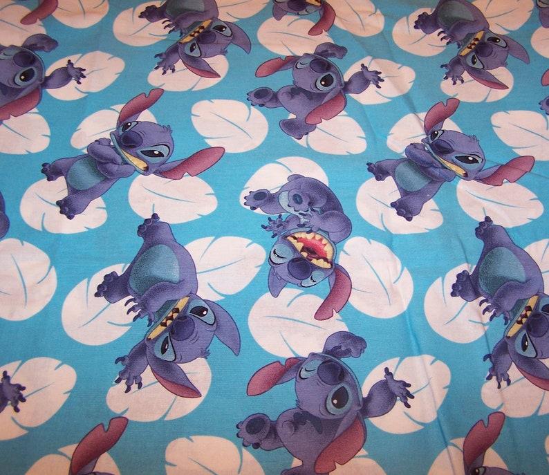 Disney LILO /& STITCH Collection Blue Cotton Yardage