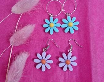 Retro Flower Earrings
