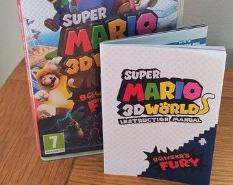 Super Mario 3D World + Bowser's Fury Manual