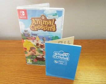 Animal Crossing: New Horizons Player Pass Booklet