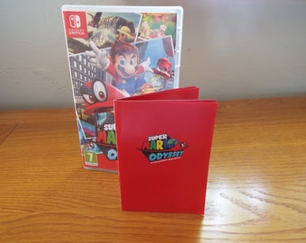 Super Mario Odyssey Switch Manual