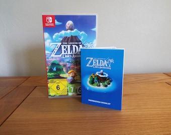 Zelda Link's Awakening Switch Manual
