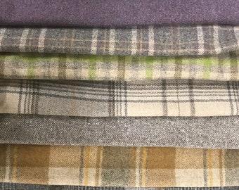 Sheepskin offcuts scraps crafting wool UK natural craft art off cuts