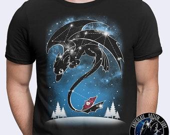 eb8582473 Starry Dragon Sky - toothless, night fury, httyd, how to train your dragon,  galaxy, constellation, nightfury, stars,