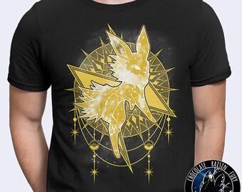 66a9d119 Starry Sky of Lightning - Jolteon Tee, Pokemon Tee, Jolteon shirt, Jolteon t -shirt, Pokemon tshirt, Jolteon Stars, Jolteon Constellation