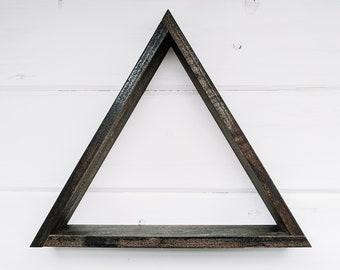 Wood Triangle Shelf