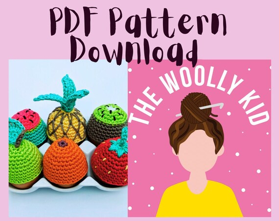 Cute and quick egg cosy crochet pattern