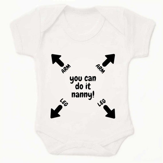 Funny Baby Grow Bodysuit Vest Top Gift My Nanny is better than your Nanny