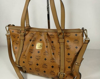 c0786895bc5b Authentic MCM Tote Bag Two Way With Strap