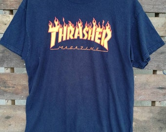 83e0ce4ec4af Vintage Mens collectible Thrasher Magazine 90s   Black T Shirt .