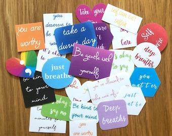 Self Care Stickers