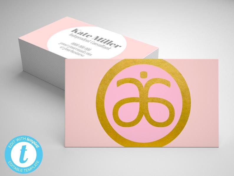 Arbonne Business Card Template Editable Arbonne Business Card Gold Arbonne Card Arbonne Marketing Materials