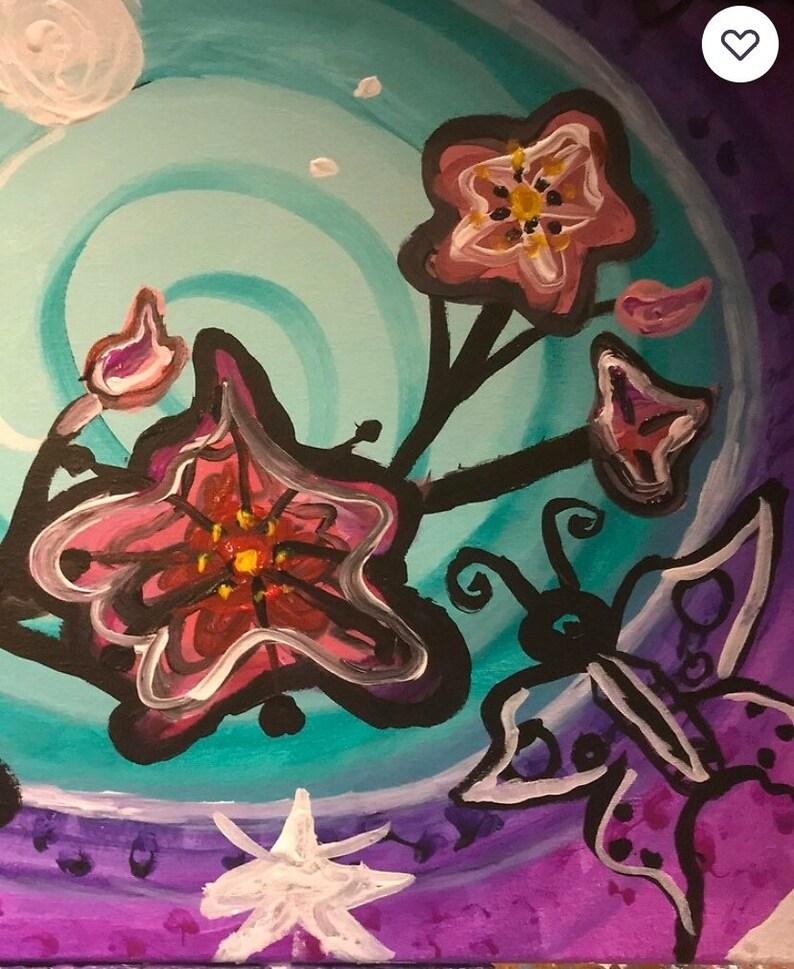 Women\u2019s Mini Skirt Butterfly Delight