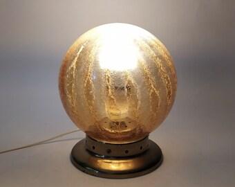 Lampada Vintage In Ottone Etsy