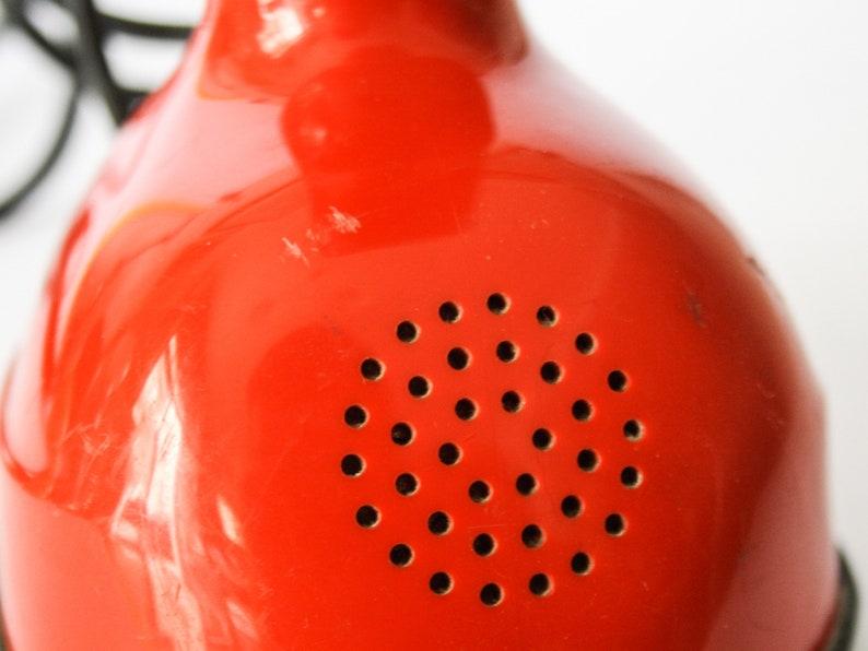 Ericofon phone Cobra Red Vintage Design ericcson years 60 Gosta Thames