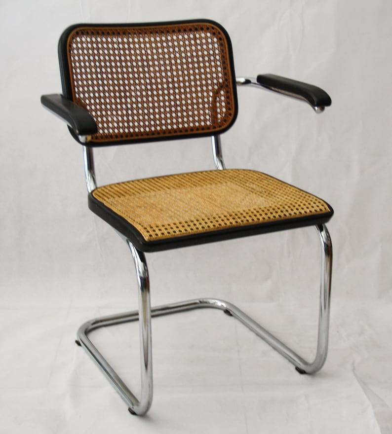 Sedie Thonet In Ferro.Chair Thonet S64 Vintage Design Marcel Breuer Black Chromed Armchair Bauhaus Cesca Armchair Singing Straw Of Vienna