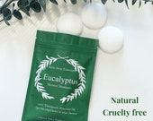 Strongly Scented Eucalyptus Shower Steamers 100 Pure Essential Oil Vegan Sinus Relief Breathe Get Well Soon Gift Spa Gift