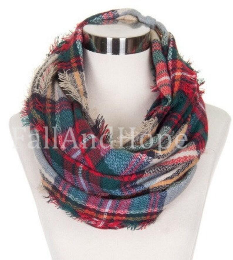 03fb6495b Blanket Infinity Scarf Infinity Blanket Scarf blanket scarf | Etsy