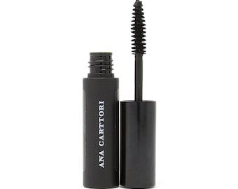 Water Resistant Black Mascara / Vegan Makeup, Cruelty Free Makeup, Gluten Free Makeup, Organic Makeup