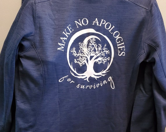 Make No Apologies for Surviving Fleece-Lined Jacket (Women's)