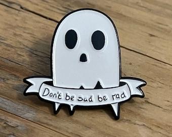 Ghost Metal Pins