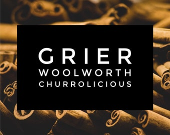Grier Woolworth Soy Wax Tart